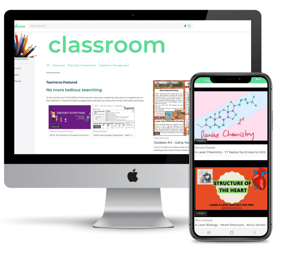 Free classroom resources